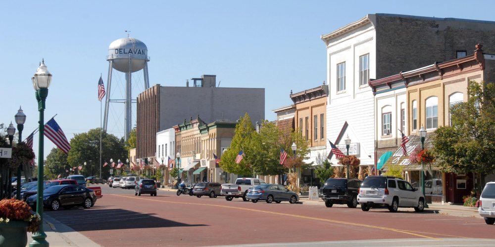 downtown delavan