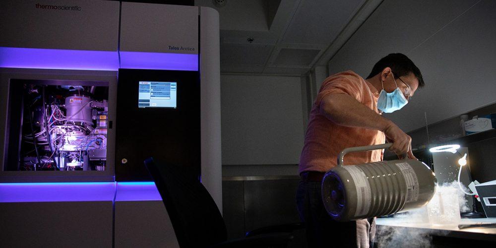 cryo-EM lab